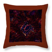 Fractal Centrifuge Throw Pillow