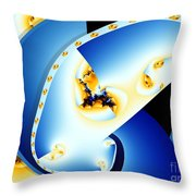 Fractal Construct Throw Pillow