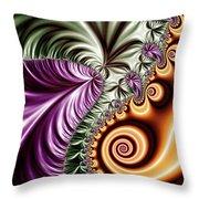 Fractal Design 7 Throw Pillow