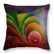 Fractal Design -a4- Throw Pillow