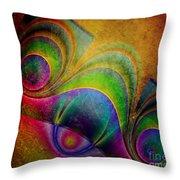 Fractal Design -a5- Throw Pillow