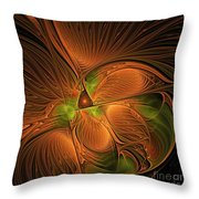 Fractal Design  -d- Throw Pillow