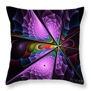 Fractal Design  -g- Throw Pillow