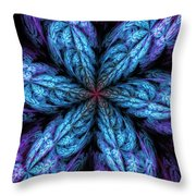 Fractal Fantasy 02-13-10-a Throw Pillow