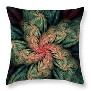 Fractal Fantasy 02-13-10 Throw Pillow
