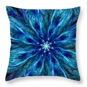 Fractal Flora 062610 Throw Pillow