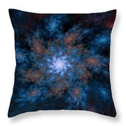 Fractal Floral Fantasy 072010 Throw Pillow