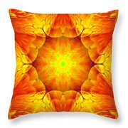 Fractal Garden 10 Throw Pillow