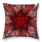 Fractal Garden 3 Throw Pillow