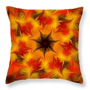 Fractal Garden 6 Throw Pillow