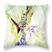 Fractal II Throw Pillow