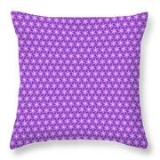 Fractal Pattern 300 Throw Pillow