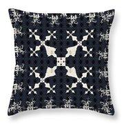 Fractal Patterns Throw Pillow
