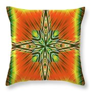 Fractal Reviews Throw Pillow