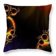 Fractalscape I Throw Pillow