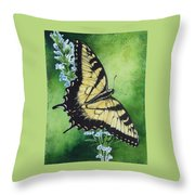 Fragile Beauty Throw Pillow