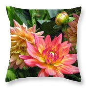 Fragrant Grouping Throw Pillow