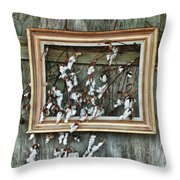 Framed Cotton Throw Pillow