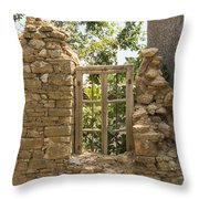 Framed Frame Throw Pillow
