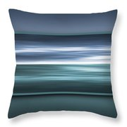 Framed Ocean Throw Pillow