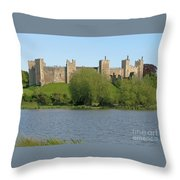 Framlingham Castle Throw Pillow