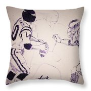 Fran Tarkenton Throw Pillow