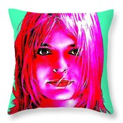 France Gall Throw Pillow