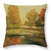 France I Throw Pillow