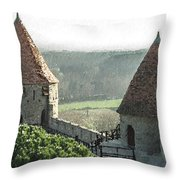 France - Id 16235-220244-1257 Throw Pillow