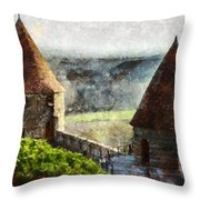 France - Id 16235-220257-3312 Throw Pillow