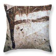 France: Mammoth Art Throw Pillow