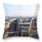 France Montmartre Paris Throw Pillow