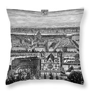 France, View Of Lyon, C1894 - To License For Professional Use Visit Granger.com Throw Pillow