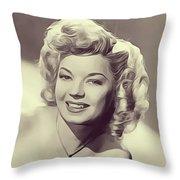 Frances Langford, Vintage Actress Throw Pillow