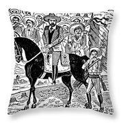 Francisco Indalecio Madero Throw Pillow