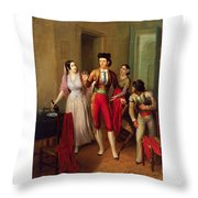 Francisco Montes Throw Pillow