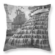 Franco-british Exhibition Throw Pillow