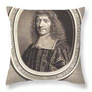 Francois Guenault Throw Pillow