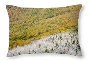 Franconia Notch State Park - White Mountains Nh Usa Autumn Throw Pillow