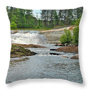 Frank J Russel Falls 2 Throw Pillow
