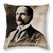 Frank James Throw Pillow
