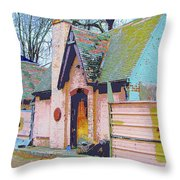 Frank Lloyd Wrong Throw Pillow