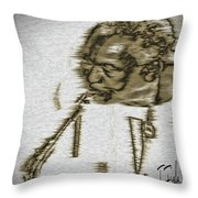 Frank Morgan Throw Pillow