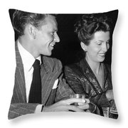 Frank Sinatra And Nancy Throw Pillow