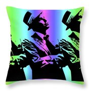 Frank Sinatra Art Throw Pillow