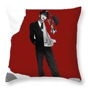 Frank Sinatra Pal Joey  1957-2015 Throw Pillow