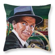 Frank Sinatra - The Capitol Years Throw Pillow
