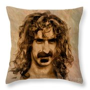 Frank Zappa Collection - 1 Throw Pillow