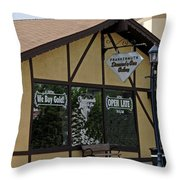 Frankenmuth Diamond And Gem Gallery Throw Pillow