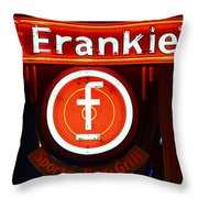 Frankie's Fort Worth Throw Pillow